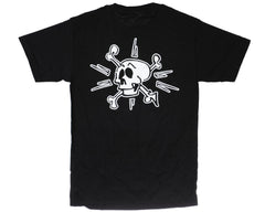 Krooked Skull S/S Men's T-Shirt - Black