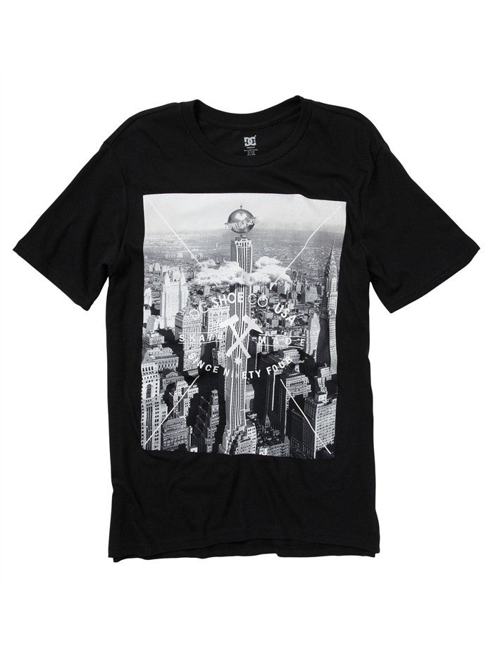 DC Worldly Men's T-Shirt - Black