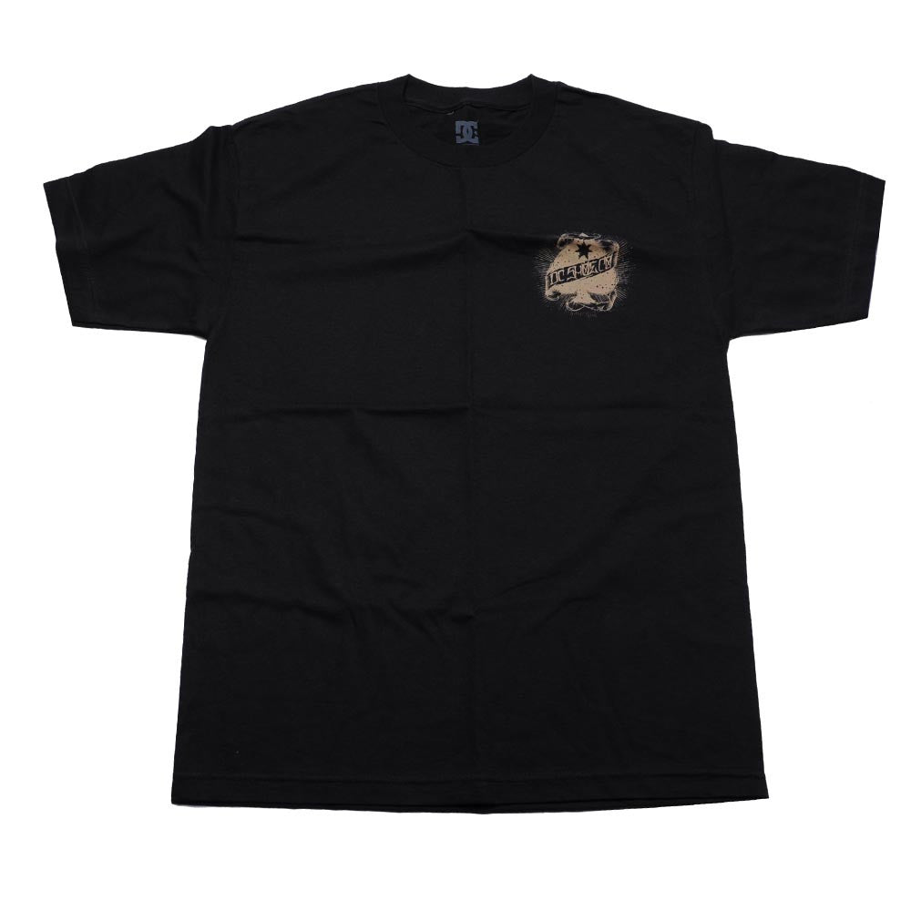 DC YC Major League S/S Men's T-Shirt - Black