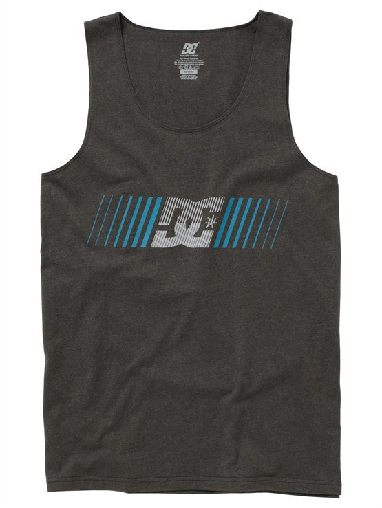 DC Sherman Training Tank Men's Tank Top - Heather Dark Shadow