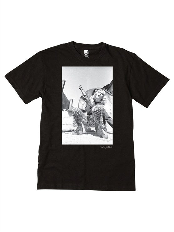 DC Tobin 02 S/S Men's T-Shirt - Black