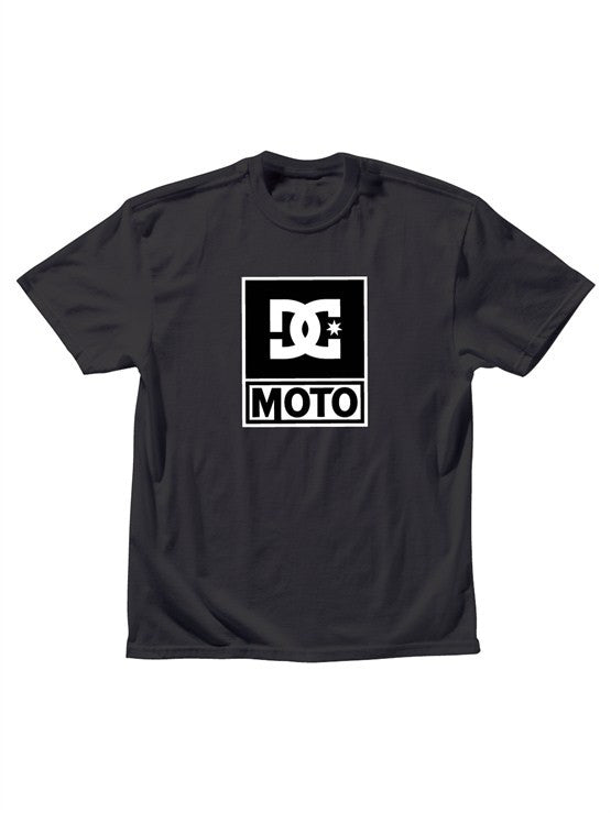 DC Moto Logo Tee S/S Men's T-Shirt - Black