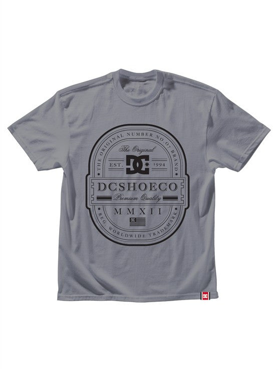 DC Rob Dyrdek Lux Label S/S Men's T-Shirt - Heather Grey