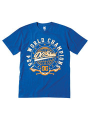 DC Flyout Men's T-Shirt - Royal Blue