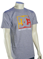 DC Cross Stars Men's T-Shirt - Heather Grey