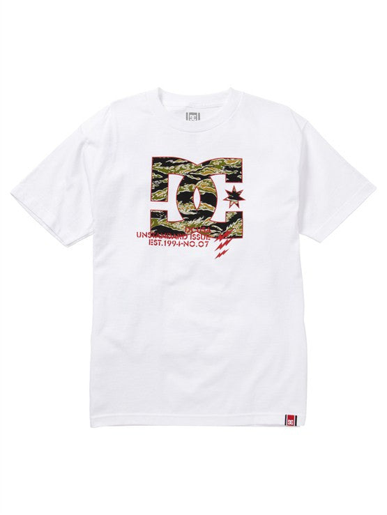 DC Rob Dyrdek Tigerstripe Men's T-Shirt - White