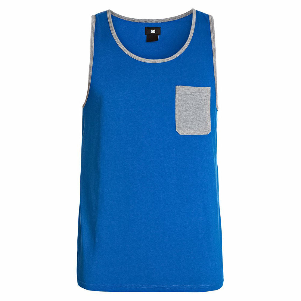 DC Contra Pocket Men's Tank Top - Snorkel Blue BRT0
