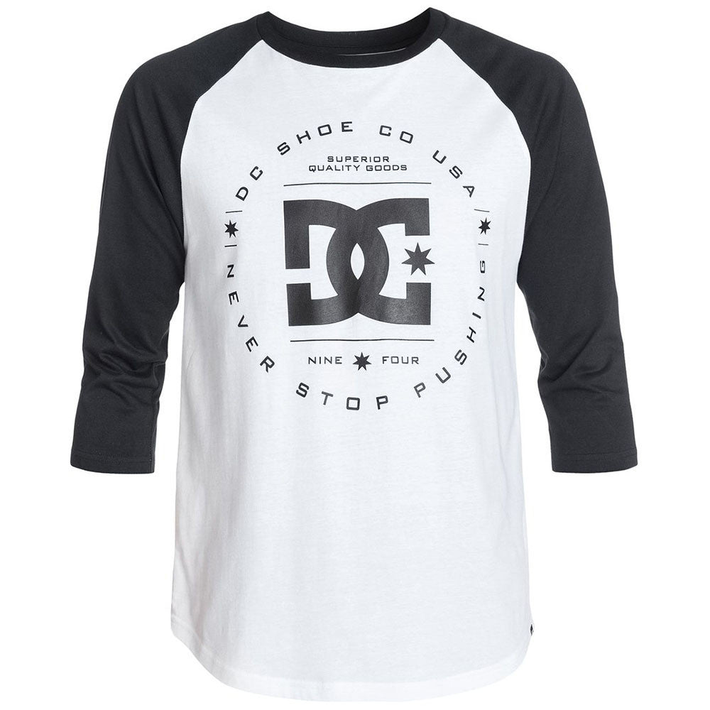 DC Rebuilt Raglan Men's T-Shirt - Star White WBN0
