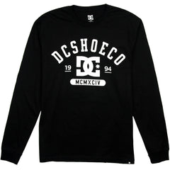 DC Flowker L/S Men's T-Shirt - Anthracite KVJ0