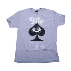 Flip Know All Regular S/S Men's Shirt - Heather Grey