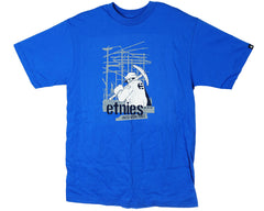 Etnies Anvil S/S Men's T-Shirt - Royal Blue