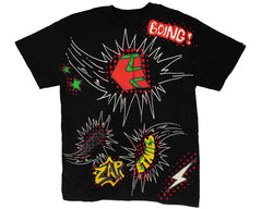 Etnies Comic S/S Men's T-Shirt - Black