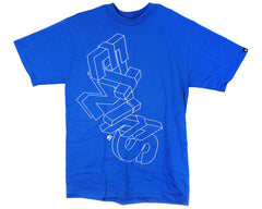 Etnies Fly S/S Men's T-Shirt - Royal Blue