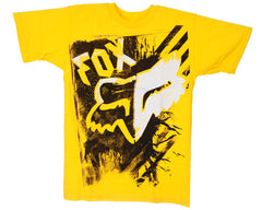 Fox Difference S/S Men's T-Shirt - Yellow