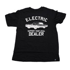 Electric Visual Dealer - Black - Mens T-Shirt