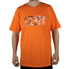 Chocolate Type Life Men's T-Shirt - Orange