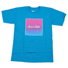 Chocolate Fader S/S Men's T-Shirt - Light Blue