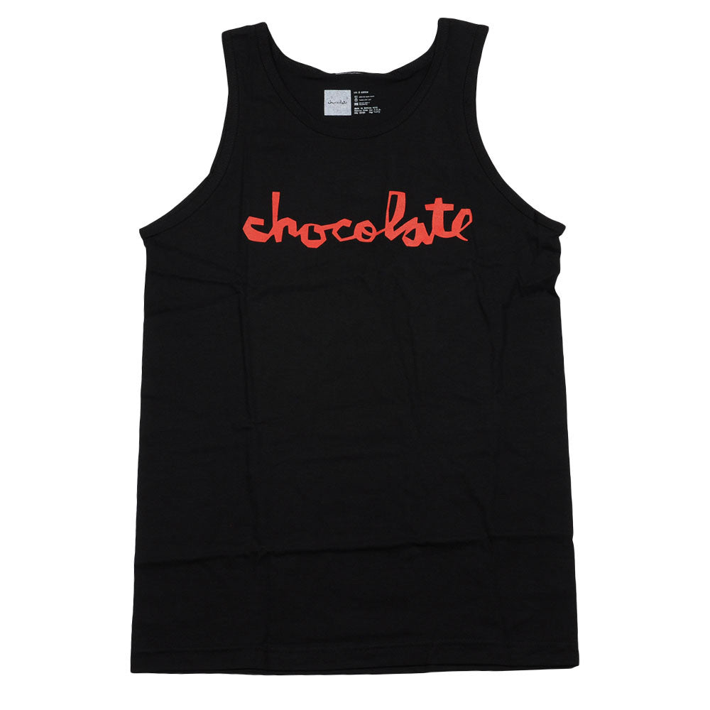 Chocolate Chunk Men's Tank Top - Black