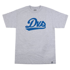 DVS League Script Men's T-Shirt - Heather Grey