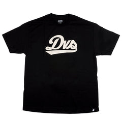 DVS League Script Men's T-Shirt - Black