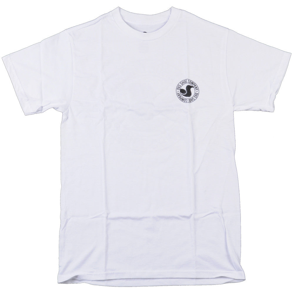 DVS Arcadia S/S Men's T-Shirt - White/Black