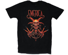 Emerica Demonic S/S Men's T-Shirt - Black