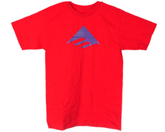Emerica Triangle S/S Men's T-Shirt - Red