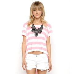 Roxy Seascape - Women's Shirt - Pink Pepper