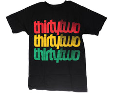 Thirty Two Repeater S/S Men's T-Shirt - Black