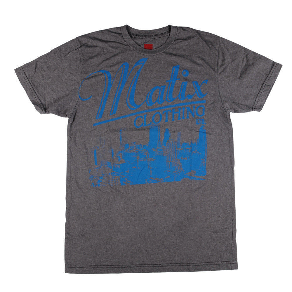 Matix Retro - Heather Grey - Men's T-Shirt