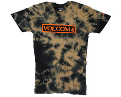 Volcom Screen Over S/S Men's T-Shirt - Tie Dye