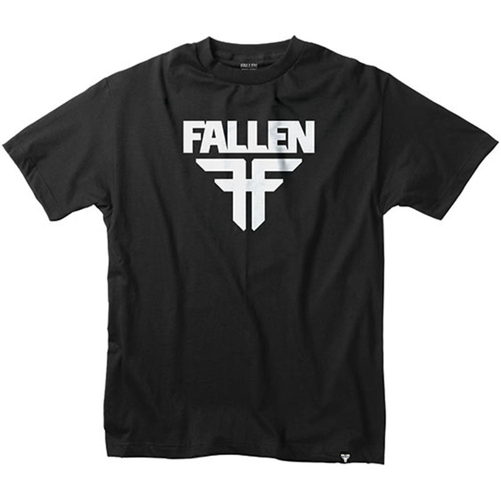 Fallen Insignia S/S Men's T-Shirt - Black/White