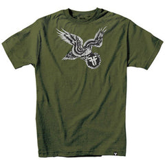 Fallen Eagle Of Vengeance S/S Men's T-Shirt - Surplus Green