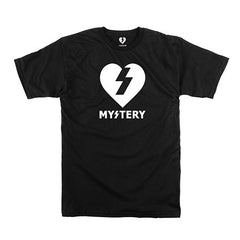 Mystery Heart S/S T-Shirt - Black/White