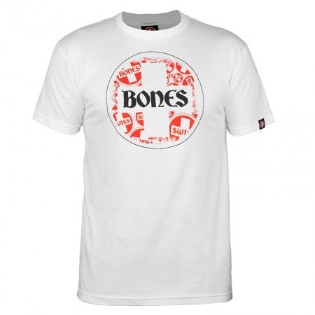 Bones Bearings Swiss Multi Circle - White - T-Shirts