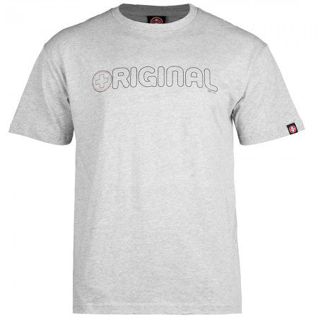 Bones Bearings Original Swiss - Grey - T-Shirt