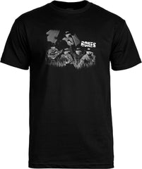 Bones Cowboy S/S Men's T-Shirt - Black