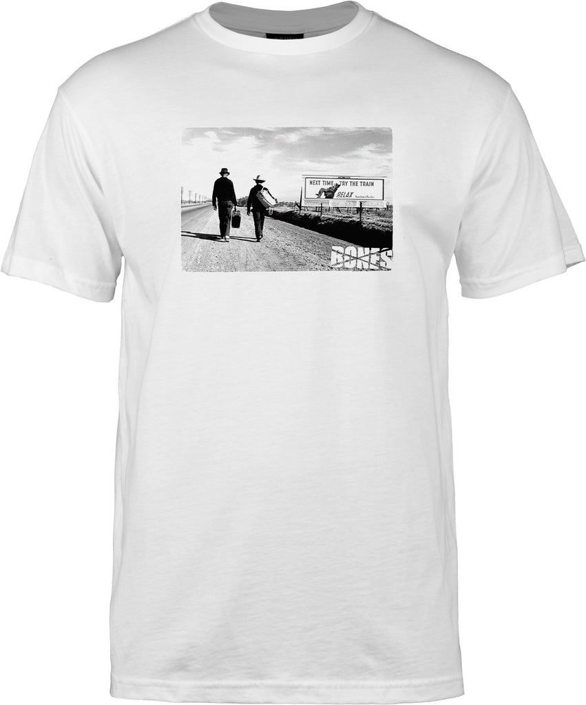 Bones Relax S/S Men's T-Shirt - White