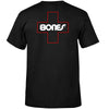 Bones Bearings Swiss Outline Pocket S/S Men's T-Shirt - Black