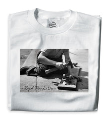 Royal Vintage Men's T-Shirt - White