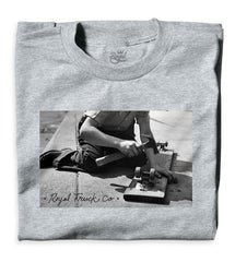 Royal Vintage Men's T-Shirt - Heather Grey
