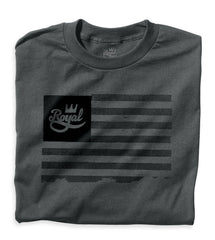 Royal Flag Men's T-Shirt - Charcoal/Black