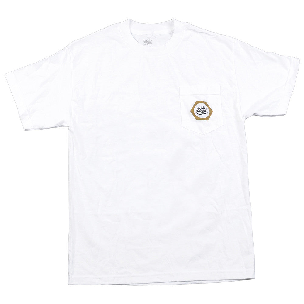 Royal Nut Pocket - White - Men's T-Shirt