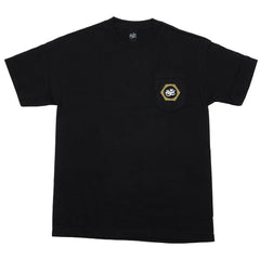 Royal Nut Pocket - Black - Men's T-Shirt