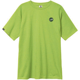 Cliche Circle Dot Slim Men's T-Shirt - Lime