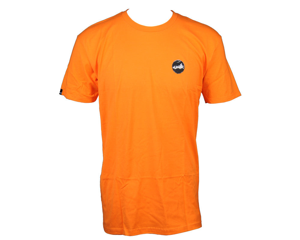 Cliche Circle Dot Slim Men's T-Shirt - Orange
