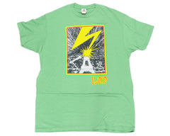Cliche Mad Brains S/S Mens T-Shirt - Kelly Heather