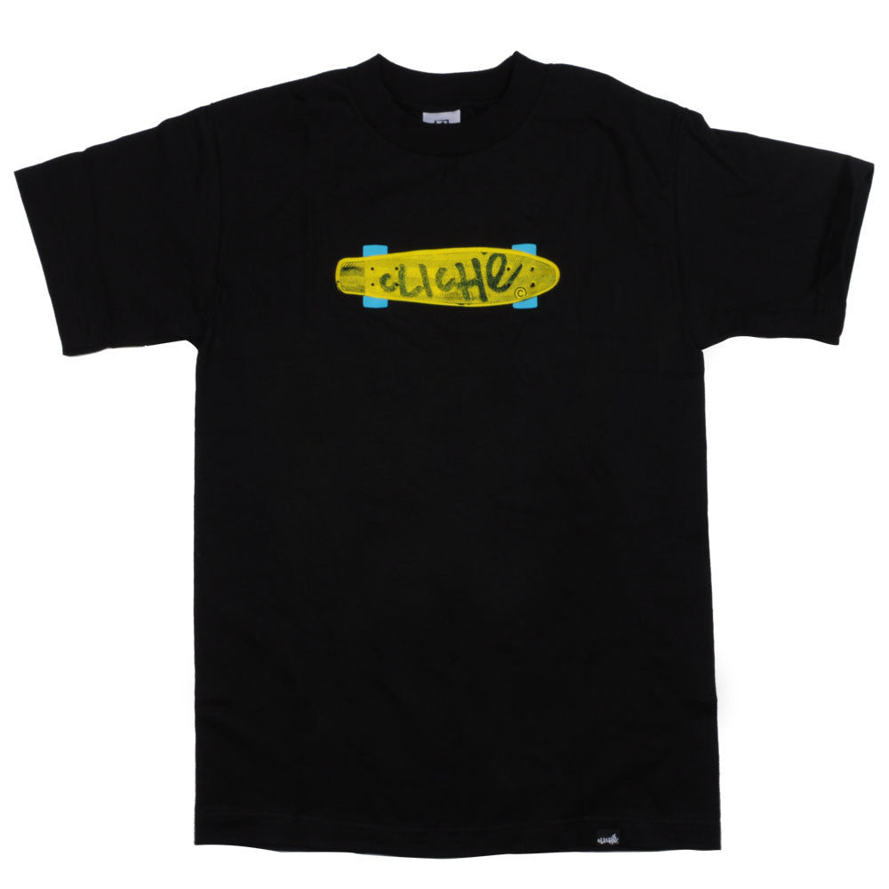 Cliche Trocadero S/S Men's T-Shirt - Black