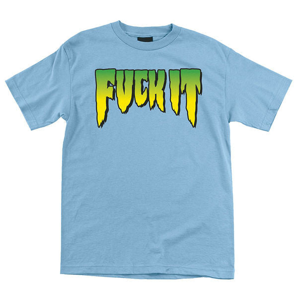 Creature Fuck It Regular S/S Men's T-Shirt - Powder Blue