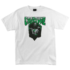 Creature Baptism Regular S/S Men's T-Shirt - White
